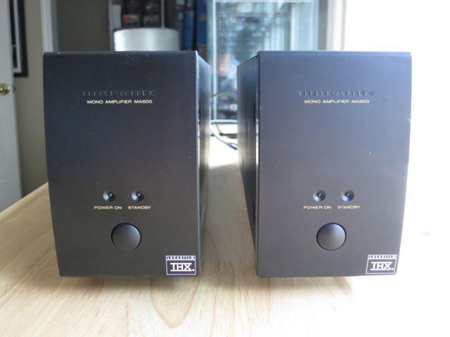 Marantz MA-500 Mono Amplifiers (2)