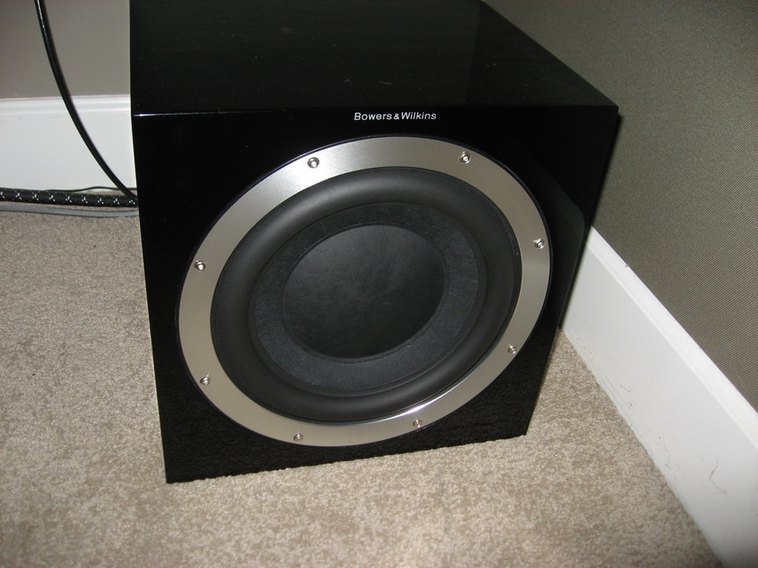 """Bowers and Wilkins B&W CM series 10"""" Subwoofer ASW10CM Gloss Black"""