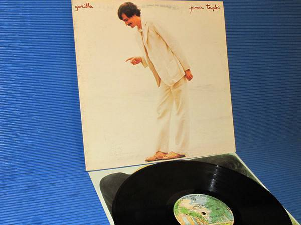 "JAMES TAYLOR -  - ""Gorilla"" -  Warner Bros. 1975 1st pressing"
