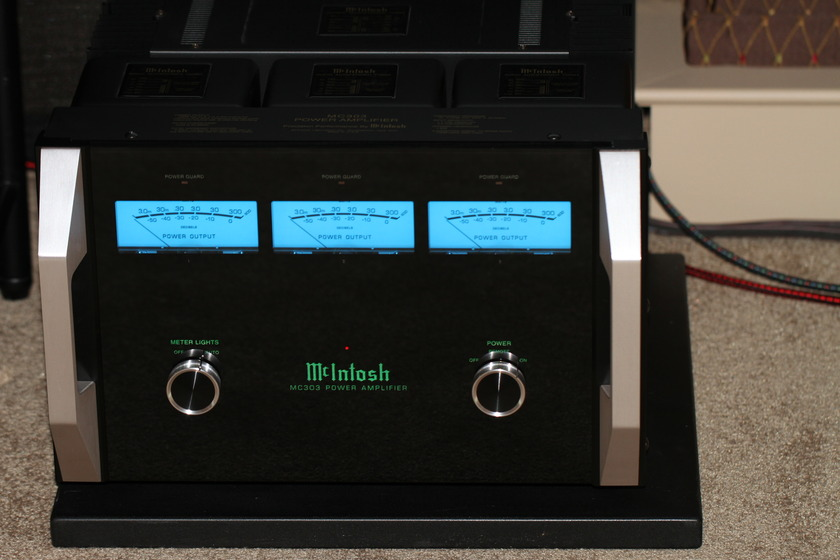 McIntosh  MC-303 300 watt 3-channel amplifier