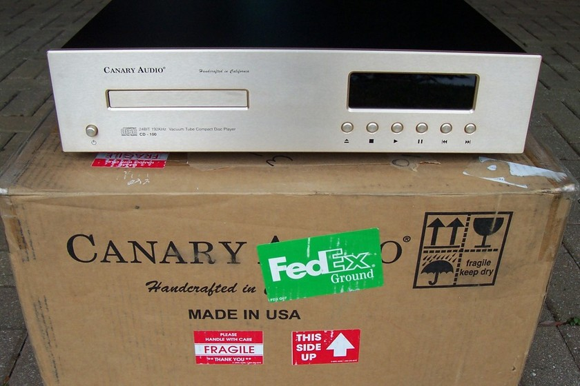 Canary CD100 Balance tubed CD player