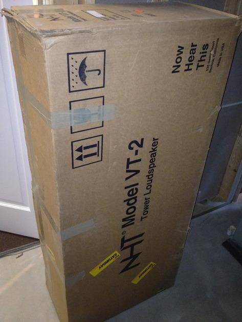 NHT VT-2 speaker