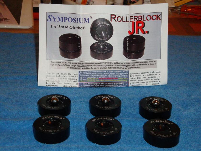 SYMPOSIUM ROLLER BLOCK JR ROLLER BLOCK JR/TUNGSTEN #10 UPGRADED TUNGSTEN #10 BALLS