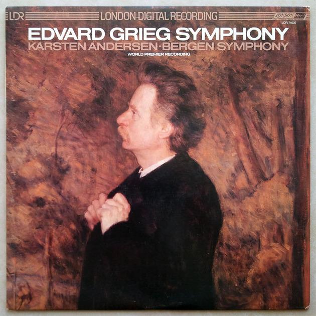 London ffrr Digital/Karsten Andersen/Grieg - Symphony / NM