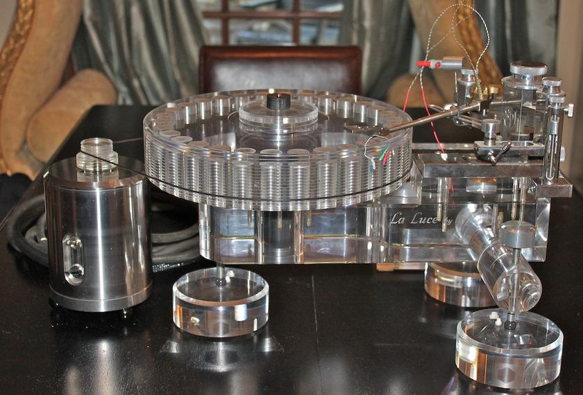 SPJ La Luce Spotheim Turntable World Class Analog, Clean!
