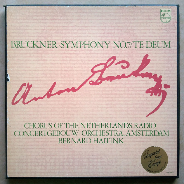 Philips/Haitink/Bruckner - Symphony No.7, Te Deum / 2-LP box set / NM