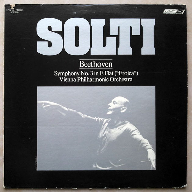 "London ffrr/Solti/Beethoven - Symphony No.3 ""Eroica"" / NM"