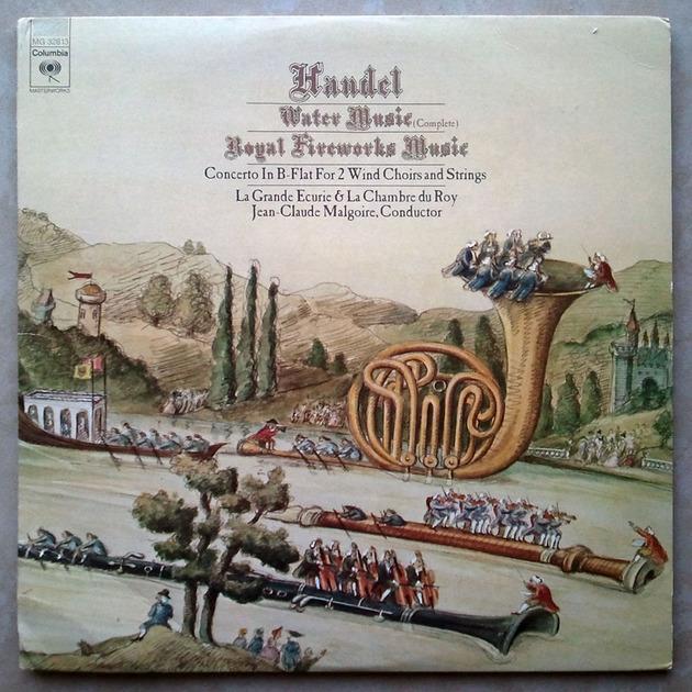 Columbia/Handel - Water Music, Royal Fireworks Music / 2-LP set / NM