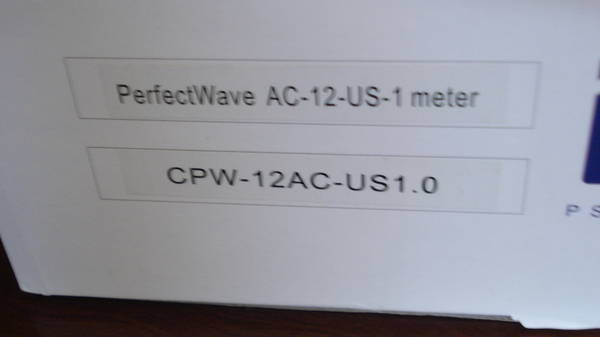 PS Audio Perfect Wave Power 12, 1 meter long. very clean.