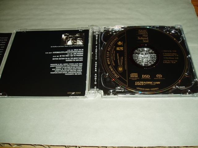 Isaac Hayes/Hot - Buttered soul/mfsl sacd hybrid/near mint!