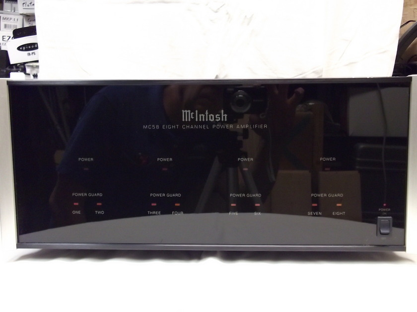 McIntosh MC58 Eight Channel Power Amplifier
