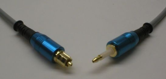 mini toslink cable Glass Fibers 1 Meter