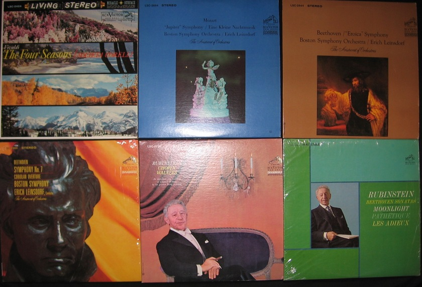 30 Classical Lp Lot - RCA Dynagroove Shaded Dogs Living Stereo