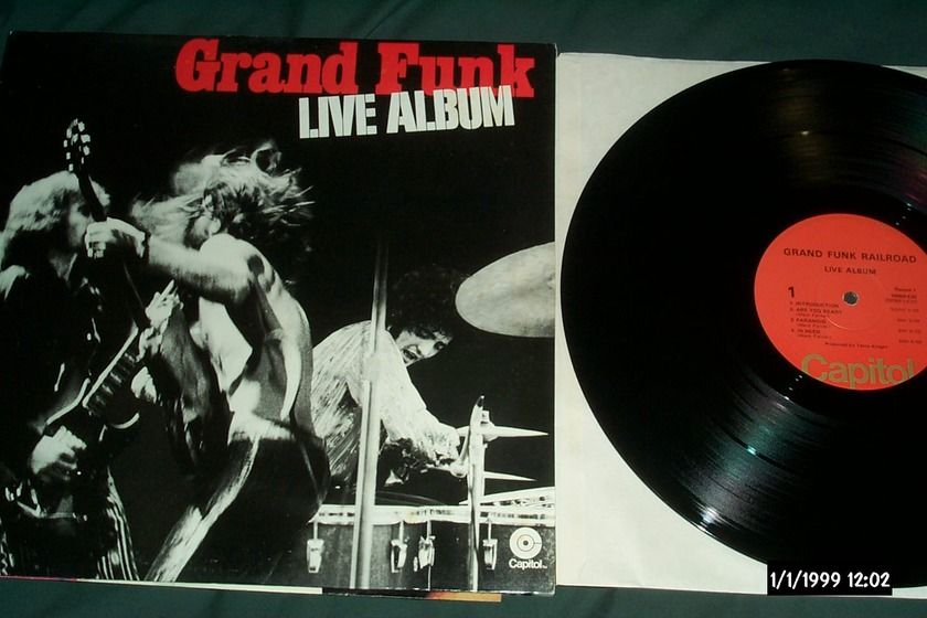 Grand funk railroad  - Live Album 2 lp nm