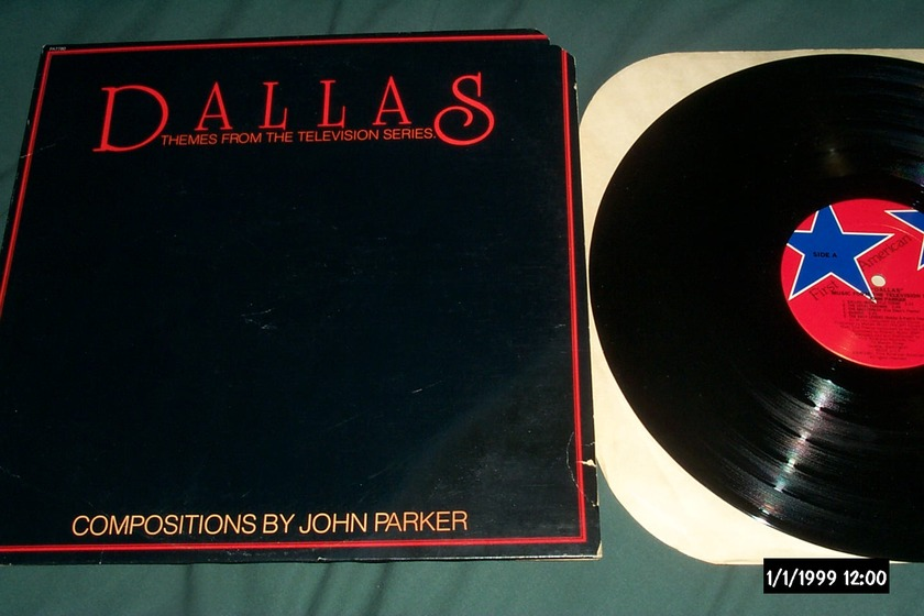 John Parker - Dallas Themes From The Television Series LP NM