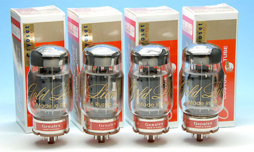 Genalex Gold Lion  KT88 Matched Quad Tubes Shipping and Paypal included!