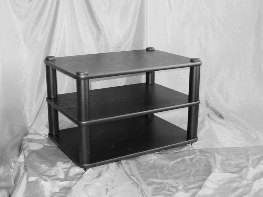 Target MB3/125 Black  Wood/Steel 3 Shelf Component Rack
