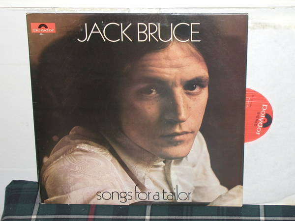 Jack Bruce - Songs For A Tailor (Pics) UK/Orig Polydor Super