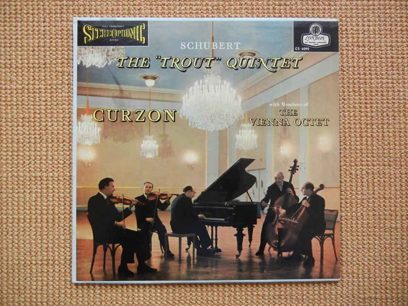 Schubert - The Trout Quintet FFSS London CS-6090 blueback