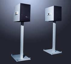 Goldmund  Epilogue I Speakers with stands