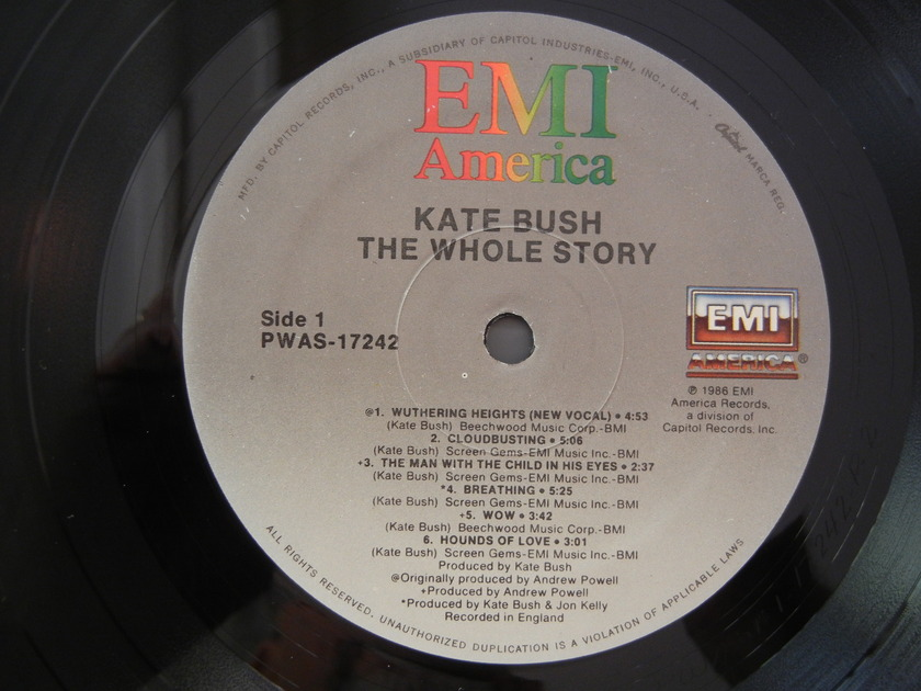 Kate Bush - EMI  PWAS-17242 The Whole Story