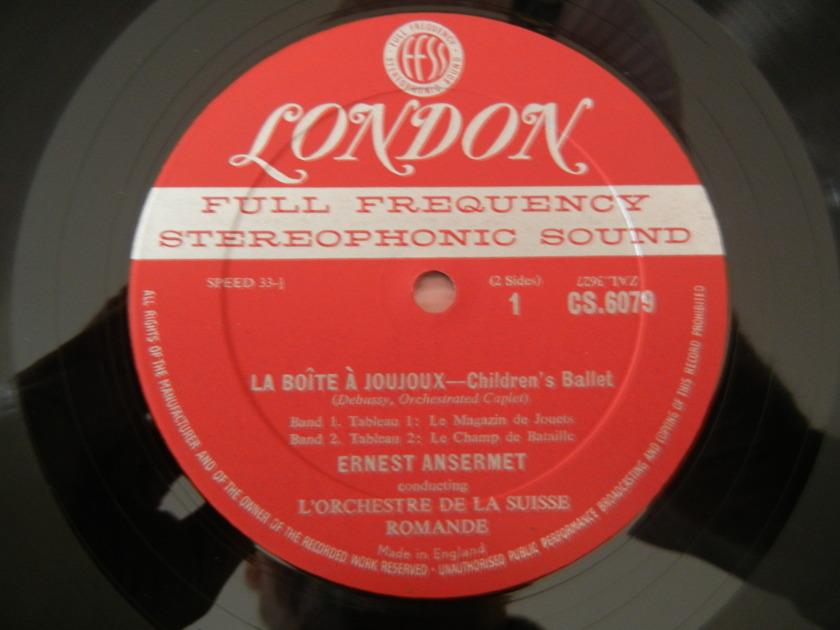 Debussy - London FFSS CS 6079 La Boite