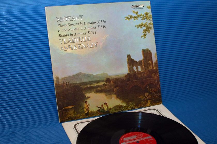 """MOZART/Ashkenazy -  - """"Piano Sonatas & Rondo"""" -  London 1970 1st pressing"""