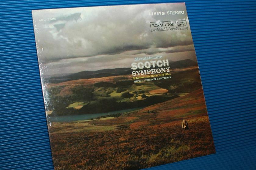"MENDELSSOHN/Munch -  - ""Scotch Symphony"" -  RCA 1961? Sealed"