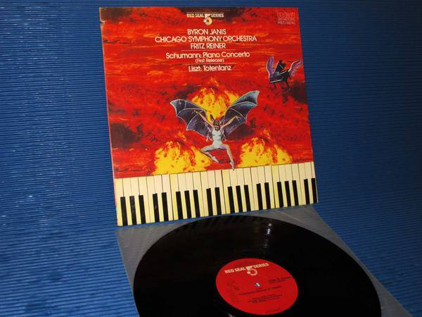 "SCHUMANN/LISZT/Reiner/Janis -  - ""Piano Concerto/Totentanz"" -  RCA .5 Series 1983 Audiophile"