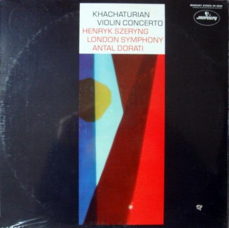 ★Sealed★ Mercury / SZERYNG-DORATI, - Khachaturian Violin Concerto,, Original!
