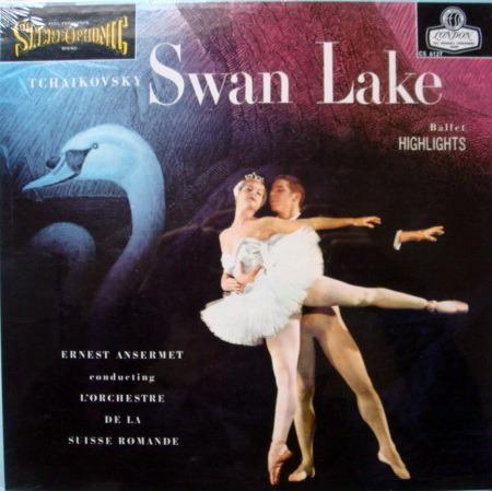 ★Sealed★ UK DECCA-LONDON / ANSERMET - Tchaikovsky Swan Lake, Original WB, BB!
