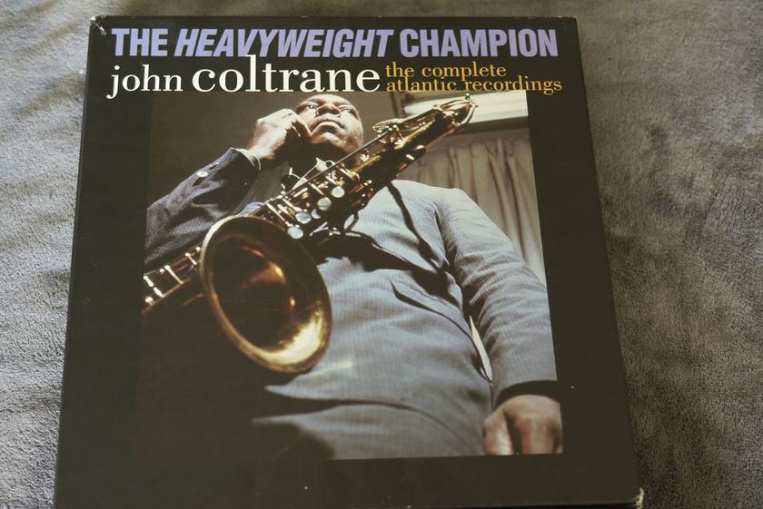 John Coltrane  - The Heavyweight Chanpion 12 LPs Box Set