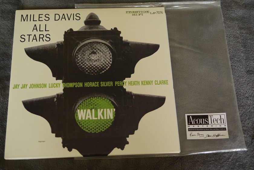 Miles Davis All Stars - Walkin' Analog Production 45RPM 2 LPs