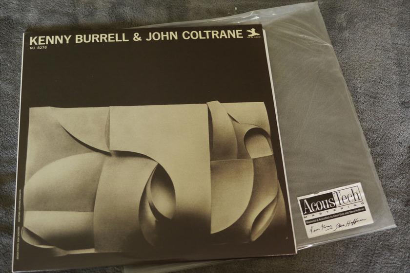 Kenny Burrell And John Coltrane - Kenny Burrell And John Coltrane Analog Production 45RPM 2 LPs