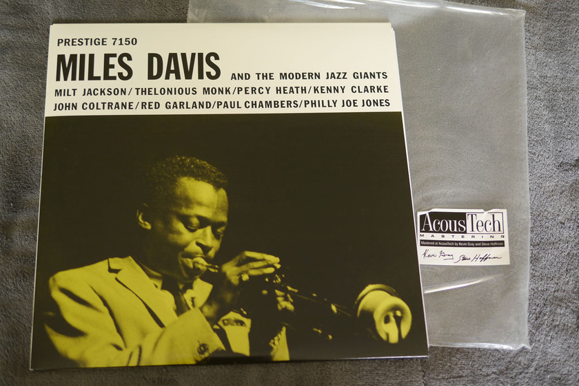Miles Davis and The Modern Jazz Giants - Miles Davis and The Modern Jazz Giants Analog Production 45RPM 2 LPs