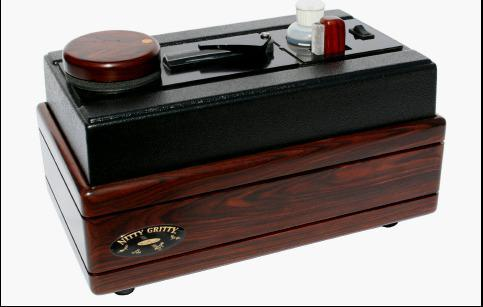 Nitty Gritty record master 2 solid cocobolo 7-10-12 disc