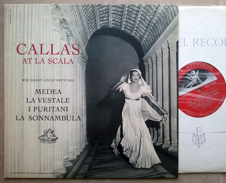 UK Angel Red Label/Callas at - La Scala / NM