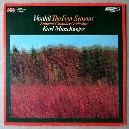 London ffrr/Kulka/Munchinger/Vivaldi - The Four Seasons / NM