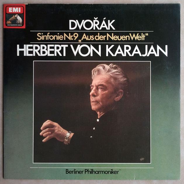 """EMI/Karajan/Dvorak  - Symphony No.9 """" From the New World"""" / NM"""