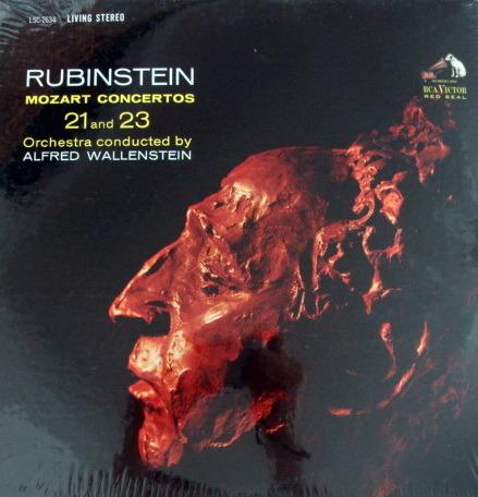 ★Sealed★ RCA LIVING STEREO / RUBINSTEIN, - Mozart Piano Concertos No.21 & 23, Original!