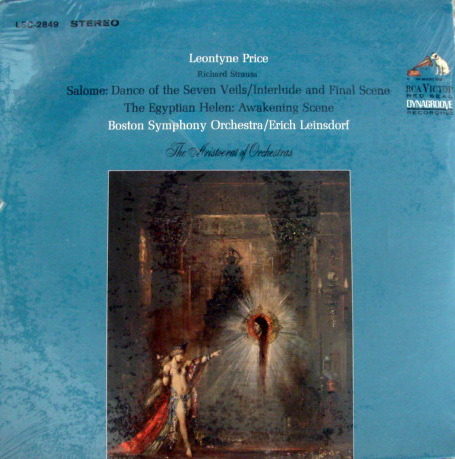 ★Sealed★ RCA LIVING STEREO / PRICE-LEINSDORF, - Strauss Salome, Original!