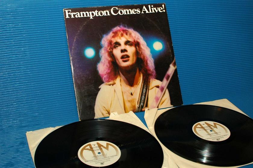 """PETER FRAMPTON -  - """"Frampton Comes Alive"""" -  A&M 1976 2 lp's"""
