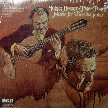 ★Sealed★ RCA Gold Seal / BREAM-PEARS, - Music for Voice and Guitar!