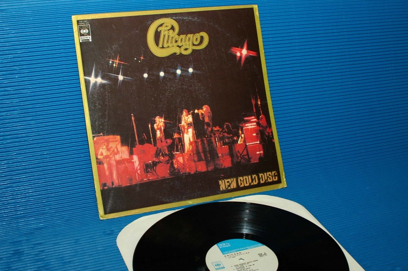 """CHICAGO -  - """"New Gold Disc"""" -  CBS/Sony Import"""