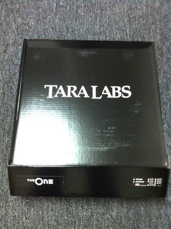 Tara labs ism the one 8ft pair with box