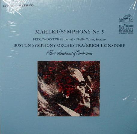 ★Sealed★ RCA Red Seal / LEINSDORF, - Mahler Symphony No.5, 2LP Box Set!