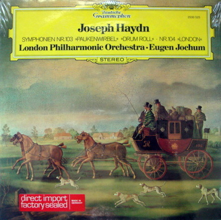 ★Sealed★ DG / JOCHUM,  - Haydn Symphonies No.103 & 104!