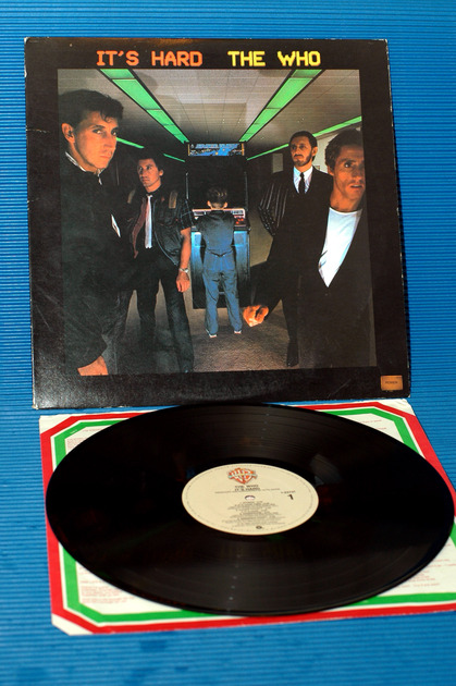 """THE WHO -  - """"It's Hard"""" -  Warner Bros. 1982"""