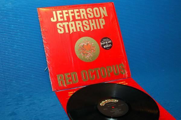 "JEFFERSON STARSHIP -  - ""Red Octopus""  - Grunt 1975"
