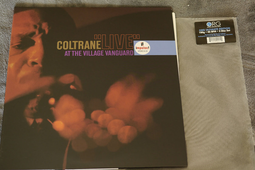 John Coltrane - Live at  The Village Vanguard 2 45RPM LPs from ORG